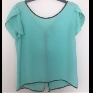 Teal blouse from Marshall's. Size Medium